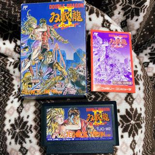 ファミリーコンピュータ(ファミリーコンピュータ)のダブルドラゴンⅡ 2 ファミコン ファミリーコンピュータ 中古(家庭用ゲームソフト)