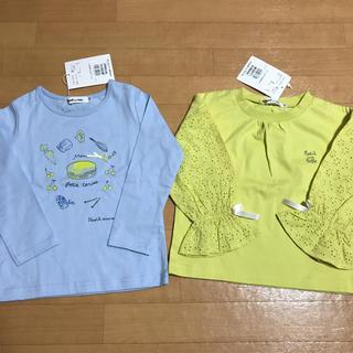 ベベノイユ(BEBE Noeil)の新品 ノイユエームベベ  トップス 100(Tシャツ/カットソー)