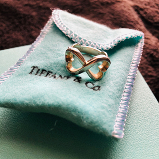 Tiffany & Co. - ティファニー ダブルラブリング