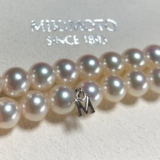 MIKIMOTO - 美品。ミキモトパールネックレス約7.5-8ミリ約43センチ糸替え済み