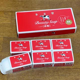 牛乳石鹸 赤箱6個