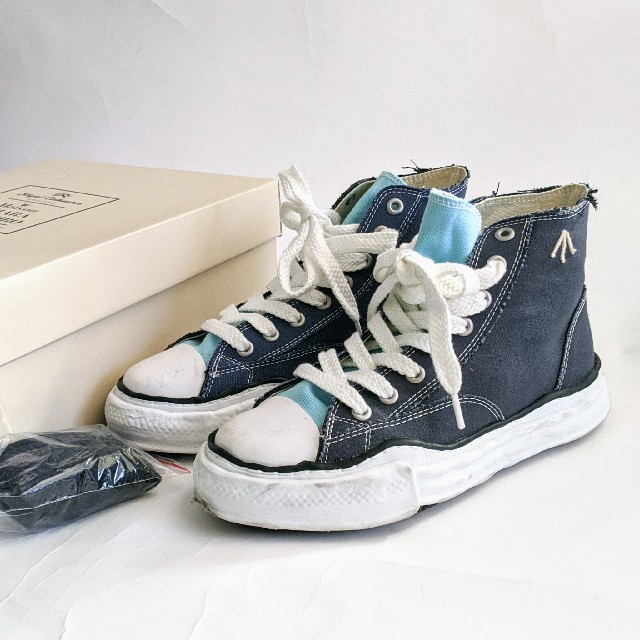 MIHARAYASUHIRO(ミハラヤスヒロ)の27.0 ハイカット ミハラヤスヒロコラボスニーカー メンズの靴/シューズ(スニーカー)の商品写真