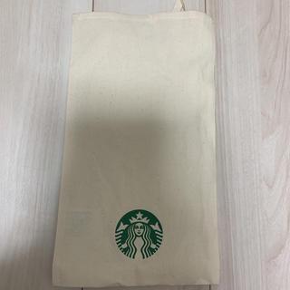 スターバックスコーヒー(Starbucks Coffee)のスタバ 巾着 キャンバス生地 ポーチ(ポーチ)
