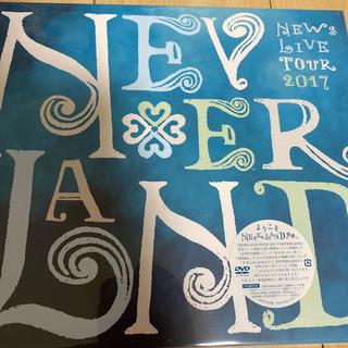 ニュース(NEWS)のNEWS LIVE TOUR 2017 NEVERLAND(初回盤) DVD(ミュージック)