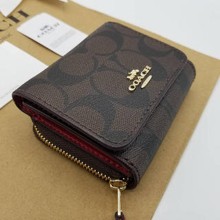 COACH - 新品未使用 コーチ 三つ折り財布