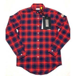 モンクレール(MONCLER)の新品 19-20AW モンクレール 1952 ロゴ チェックシャツ GENIUS(シャツ)