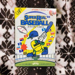 ファミリーコンピュータ(ファミリーコンピュータ)のスーパーリアル ベースボール '88 ファミコン ファミリーコンピュータ 中古(家庭用ゲームソフト)