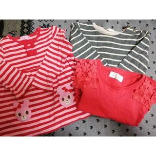 ホットビスケッツ(HOT BISCUITS)の女の子セット(Tシャツ/カットソー)