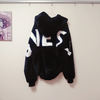 GUESS - GUESS*LHP*別注*モコモコ*ファーブルゾン