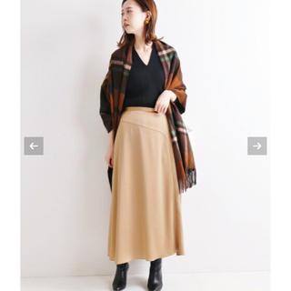 IENA - IENA キリカエフレアーサテンスカート 40 新品