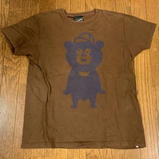ビームス(BEAMS)のBEAMS-T WDW ビームス L Tシャツ クマ 茶 ブラウン(Tシャツ/カットソー(半袖/袖なし))