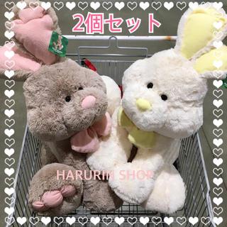 コストコ - ☆新品☆コストコ イースターバニー うさぎのぬいぐるみ ウサギ 2個セット ペア