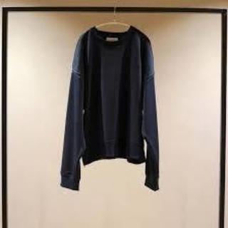 yoke OVERSIZED PIPING SWEAT 19ss