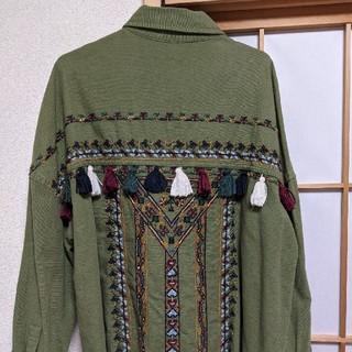 ZARA - ZARA シャツジャケット