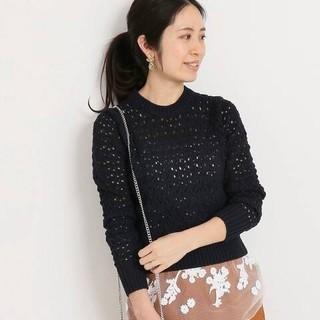 IENA - イエナのローゲージ透かし編みプルオーバー