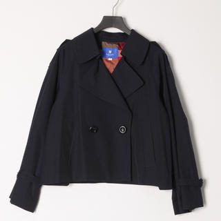 BURBERRY BLUE LABEL - 新品 ブルーレーベル クレストブリッジ トレンチジャケット