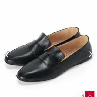 ファビオルスコーニ(FABIO RUSCONI)のファビオルスコーニ レザー ローファー 39.5(ローファー/革靴)