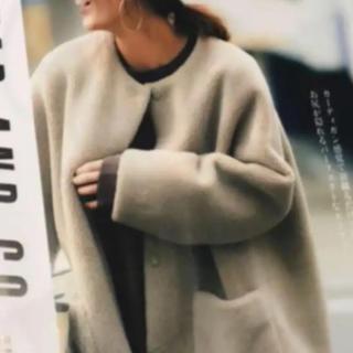 Mila Owen - 雑誌掲載 ボアコート  今月のみ出品