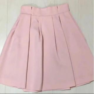 トランテアンソンドゥモード(31 Sons de mode)のピンク スカート トランテアン(ひざ丈スカート)