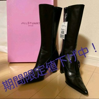 ジルスチュアート(JILLSTUART)のJILLSTUART  ブーツ 黒(ブーツ)