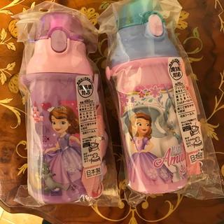 Disney - 水筒 ワンタッチボトル 2個