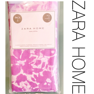 取り置き!ZARA HOME クッションカバー 枕 ピローケース 50×75 紫(枕)