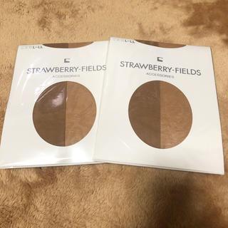ストロベリーフィールズ(STRAWBERRY-FIELDS)のSTRAWBERRY-FIELDS ストッキング 2個セット(タイツ/ストッキング)