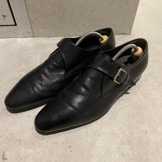 Saint Laurent - Saint Laurent Paris レザーバックルシューズ