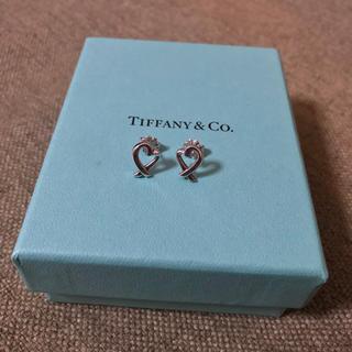 Tiffany & Co. - ティファニー ラビングハート  ピアス スターリングシルバー 925