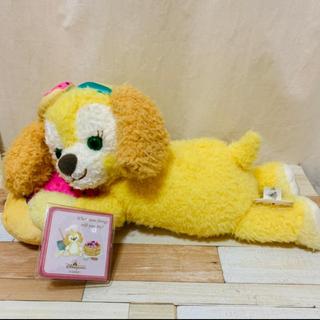 ダッフィー - 【香港ディズニー新商品】クッキーアン ふわふわ抱き枕クッション ぬいぐるみ