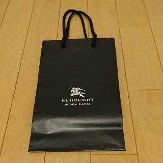 バーバリーブラックレーベル(BURBERRY BLACK LABEL)の★格安 BURBERRY紙袋 (バーバリー) 紙袋★(ショップ袋)