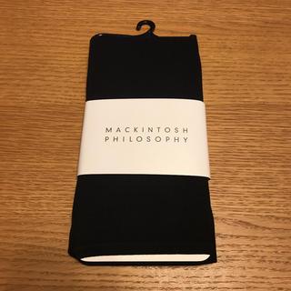マッキントッシュフィロソフィー(MACKINTOSH PHILOSOPHY)の新品 未使用 マッキントッシュフィロソフィー レギンス ブラック 半額以下(レギンス/スパッツ)