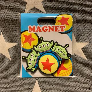 Disney - ディズニー ピクサー トイストーリー エイリアン グリーンメン マグネット 磁石