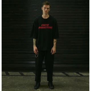 COOTIE - 新品 COOTIE T/C 2 Tuck Easy Pants ブラック M