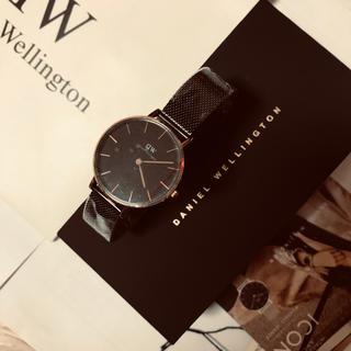 Daniel Wellington - ダニエルウェリントン 腕時計 クォーツ ブラック