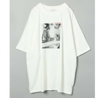 JEANASIS - ジーナシス プリント オーバーサイズ  BIGTシャツ
