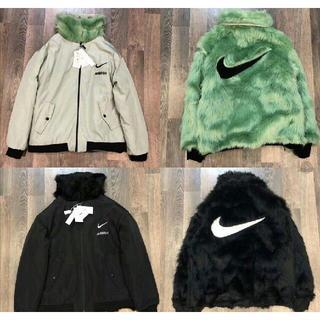 Nike ナイキ×AMBUSH フェイクファー リバーシブルジャケット