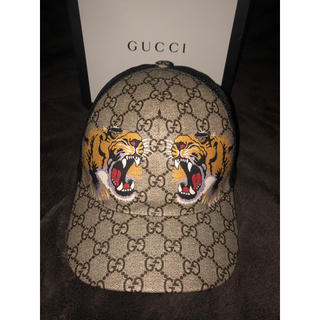 Gucci - gucci キャップ メッシュキャップ タイガー 虎