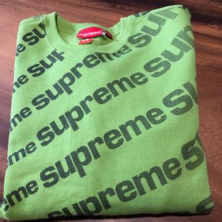Supreme - supreme 20ss 立ち上げ radial crewneck 緑