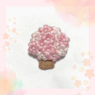 桜の木*ブローチ(コサージュ/ブローチ)