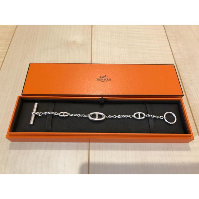 Hermes(エルメス)の専用 ファランドール シェーヌダンクル LGサイズ レディースのアクセサリー(ブレスレット/バングル)の商品写真