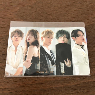 AAA - AAA ベストアルバム特典 ICステッカー