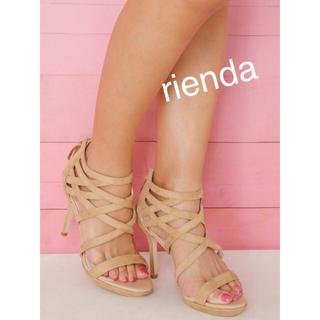 rienda - 新品  リエンダ  ハイヒールサンダル