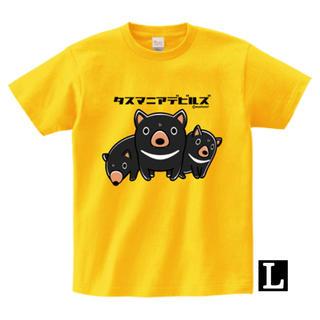 タスマニアデビルズTシャツ(Lサイズ)(Tシャツ/カットソー(半袖/袖なし))