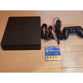PlayStation4 - PS4 本体 プレイステーションプラス利用権(3ヶ月)付き