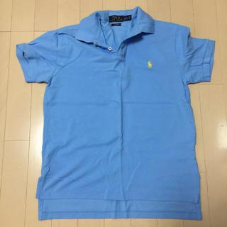 POLO RALPH LAUREN - ポロラルフローレン ポロシャツ 水色