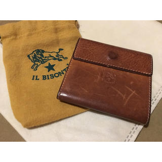 IL BISONTE - 期間限定価格◆イルビゾンテ 正規品 イタリアンレザー  コンパクトウォレット