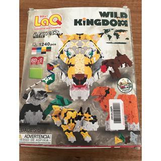 Lego - 【大量】LaQ ラキュー ワイルドキングダムとビートル他パーツセット