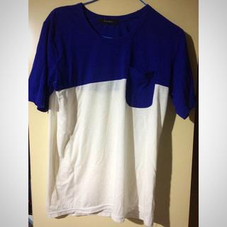 RAGEBLUE - レイジブルー   カラーブロックTシャツ 3