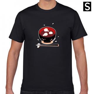 アザラシおしるこTシャツ(Sサイズ)(Tシャツ/カットソー(半袖/袖なし))